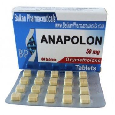 Anapolon Анаполон 50 мг, 100 таблеток, Balkan Pharmaceuticals в Семее, Семипалатинске