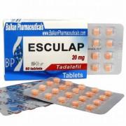 Esculap Тадалафил Эскулап 20 мг, 20 таблеток, Balkan Pharmaceuticals