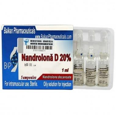 Nandrolona D 20% Нандролон Деканоат 200 мг/мл, 10 ампул, Balkan Pharmaceuticals в Семее, Семипалатинске