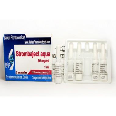 Strombaject aqua Стромбаджект аква 50 мг/мл, 10 ампул, Balkan Pharmaceuticals в Семее, Семипалатинске