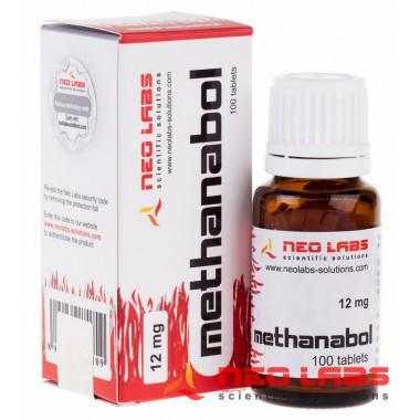 Methanabol Метанабол 12 мг, 100 таблеток, Neo Labs в Семее, Семипалатинске