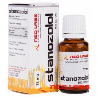 Stanozolol Станозолол 12 мг, 100 таблеток, Neo Labs в Семее, Семипалатинске