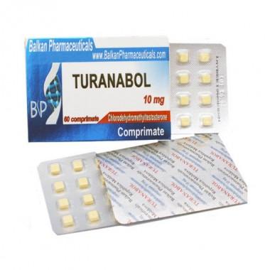 Turanabol Туринабол 10 мг, 100 таблеток, Balkan Pharmaceuticals в Семее, Семипалатинске