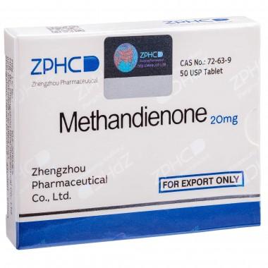 Methandienone Метандиенон 20 мг, 50 таблеток, ZPHC в Семее, Семипалатинске