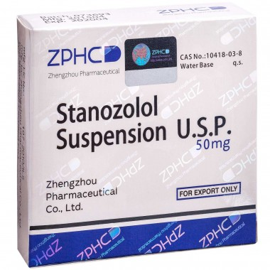 Stanozolol Suspension Станозолол суспензия 50 мг, 10 ампул, ZPHC в Семее, Семипалатинске