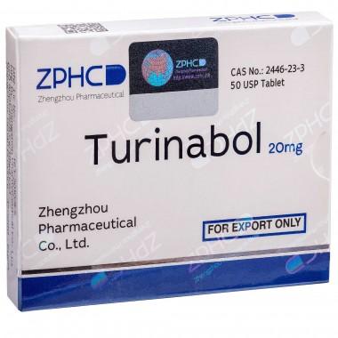 Turinabol Туринабол 20 мг, 50 таблеток, ZPHC в Семее, Семипалатинске