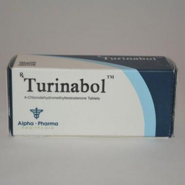Turinabol (Туринабол) Alpha Pharma 50 таблеток (1таб 10 мг) в Семее, Семипалатинске